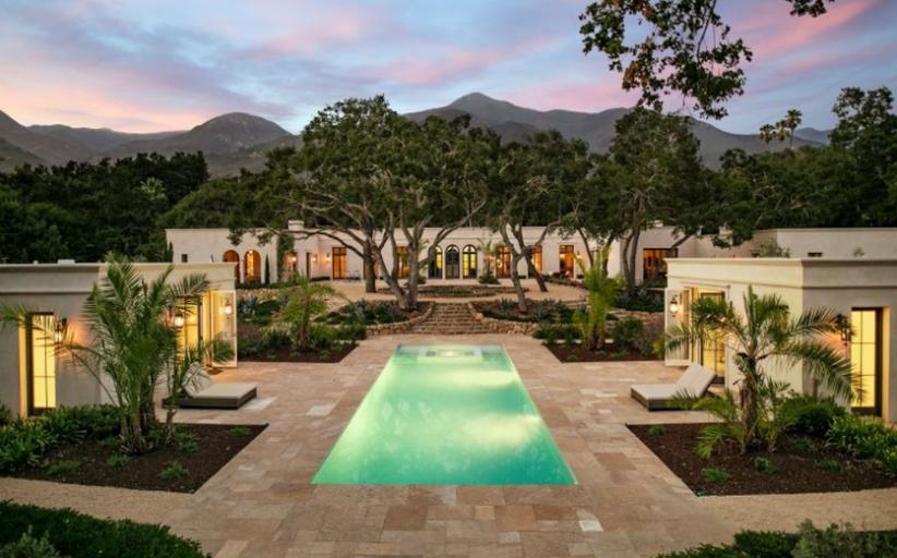 $9.15 Million Newly Built Neoclassical Home In Santa Barbara, CA