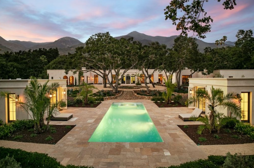 $9.15 Million Newly Built Neoclassical Home In Santa Barbara, CA