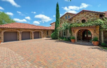 $3.725 Million Tuscan Inspired Stone & Stucco Mansion In Austin, TX