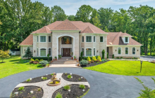 12,000 Square Foot Brick Mansion In Clarksville, MD