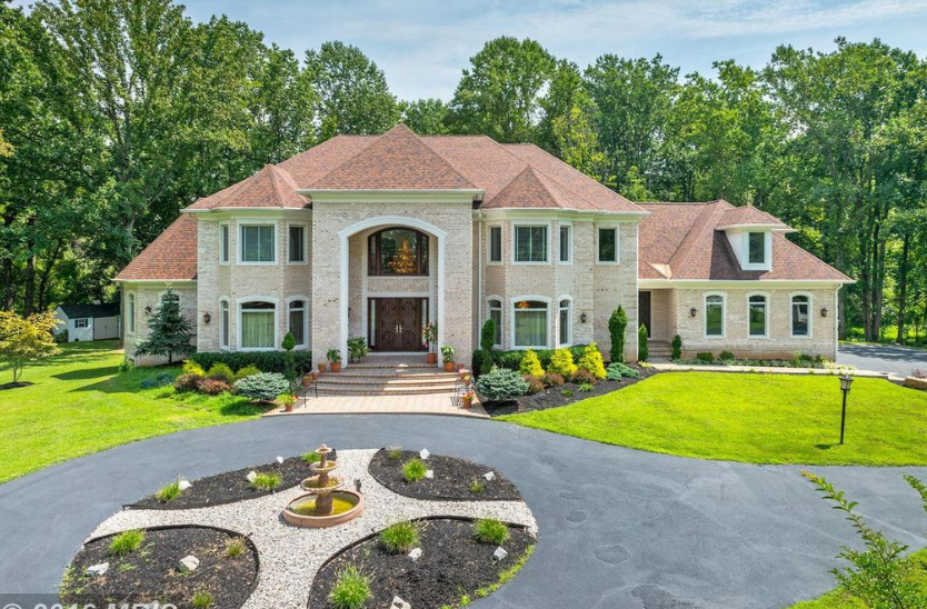12 000 Square Foot Brick Mansion In
