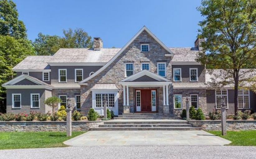 $6.9 Million Newly Built Stone & Shingle Mansion In Washington, CT