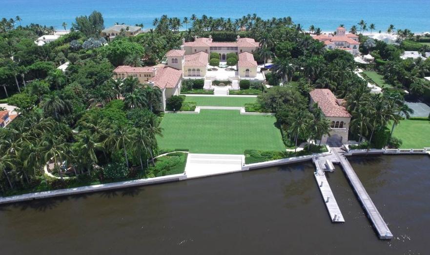 Il Palmetto – A $137 Million Ocean-To-Lake Estate In Palm ...