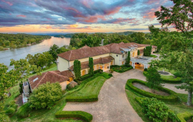 Villa Collina – A 36,000 Square Foot Waterfront Mega Mansion In Knoxville, TN