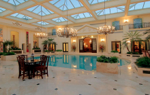 3 Homes On The Market With Insane 2-Story Indoor Swimming Pools! (PHOTOS)