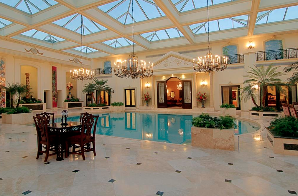 3 Homes On The Market With Insane 2-Story Indoor Swimming ...
