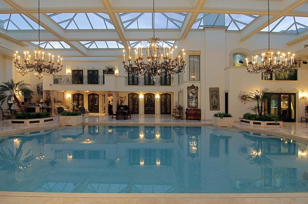 3 Homes On The Market With Insane 2 Story Indoor Swimming