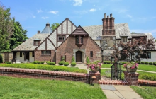 $3.2 Million Historic English Tudor Home In Westfield, NJ