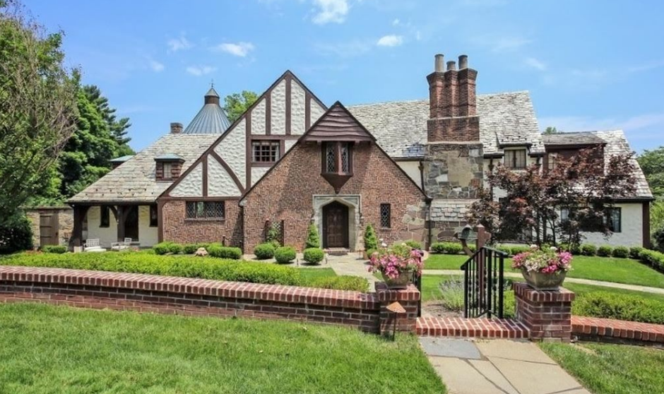 $3.2 Million Historic English Tudor Home In Westfield, NJ