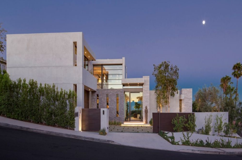 $10.995 Million Newly Built Contemporary Home In Los Angeles, CA