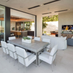 Covered Outdoor Living/Dining Area