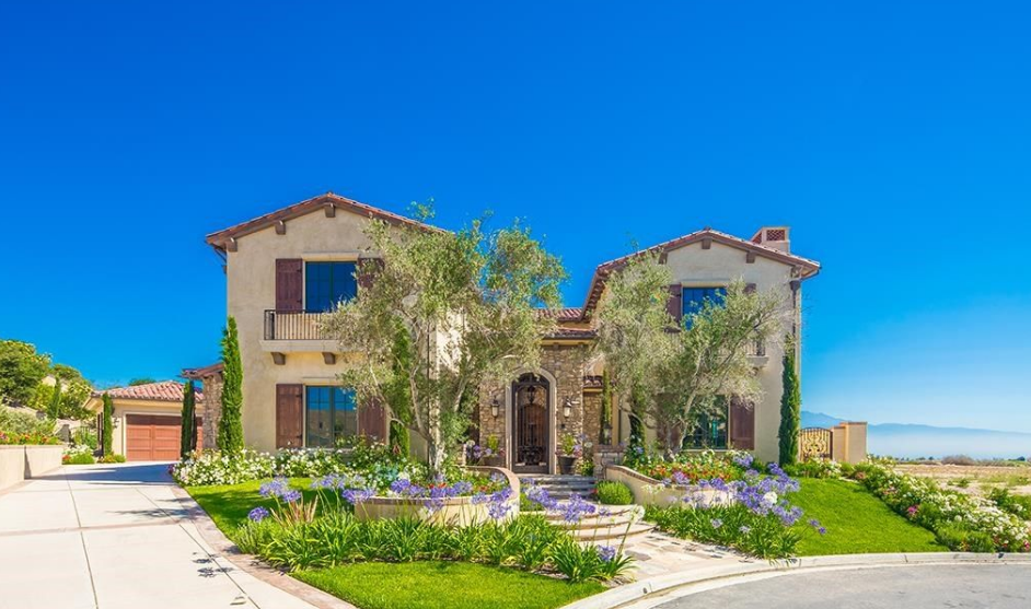 $4.4 Million Newly Built Stucco Home In Chino Hills, CA