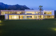 18,000 Square Foot Newly Built Modern Mansion In Marbella, Spain