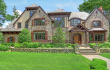 $5.25 Million European Inspired Stone Mansion In Greenwich, CT