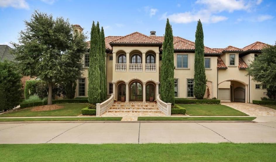 $2 Million Mediterranean Home In Frisco, TX