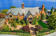 $14 Million Historic Lakefront Mansion In Seattle, WA