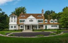 $3.995 Million Shingle & Stone Mansion In Greenwich, CT