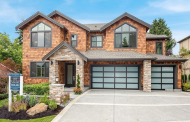 $2.9 Million Newly Built Shingle & Stone Home In Bellevue, WA
