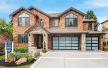 $2.9 Million Newly Built Shingle & Stone Home In Bellevue, WA