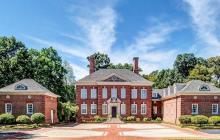 10,000 Square Foot Brick Georgian Mansion In Massillon, OH