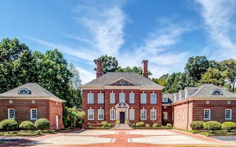 10,000 Square Foot Brick Georgian Mansion In Massillon, OH