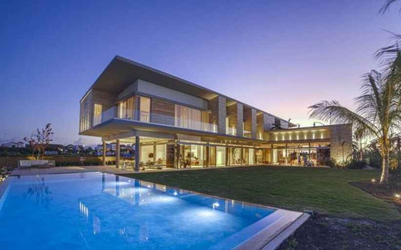 11,000 Square Foot Contemporary Waterfront Mansion In The Dominican Republic
