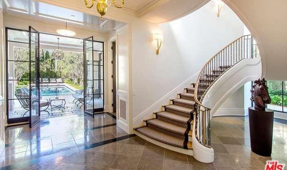 French Provincial Mansion In Los Angeles Ca Re Listed