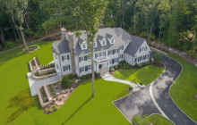 $3.695 Million Newly Built Colonial Home In New Canaan, CT