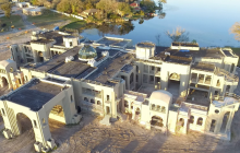 More Pics & Videos Of An 85,000 Square Foot Florida Mega Mansion