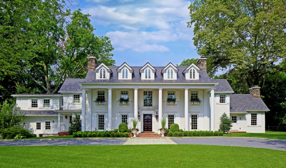 $6.75 Million Historic Colonial Home In Rye, NY