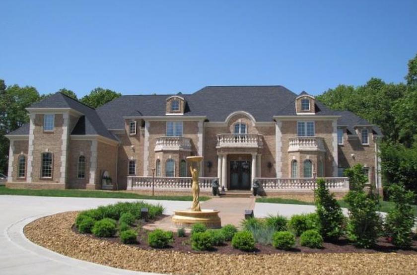 Mega Mansion Exterior
