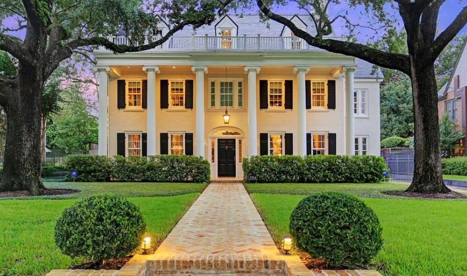 $4.2 Million Historic Colonial Home In Houston, TX
