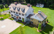 $2.9 Million Newly Built Georgian Colonial Home In Westport, CT