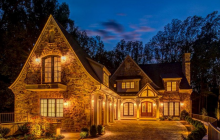 $3.6 Million Newly Built Stone Mansion In McLean, VA