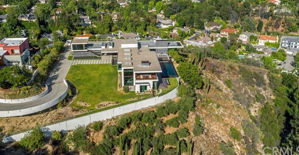 25 Million Newly Built Modern Mansion In Beverly Hills