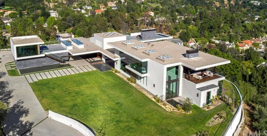 25 Million Newly Built Modern Mansion In Beverly Hills