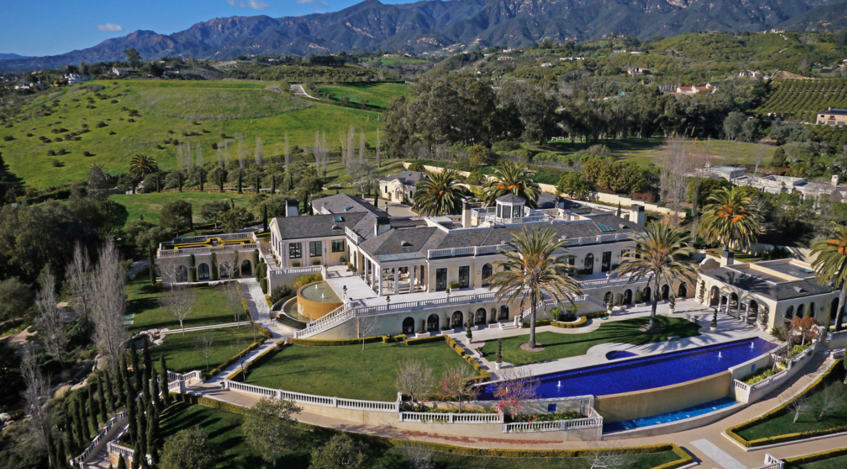$65 Million Polo Ranch Estate In Summerland, CA