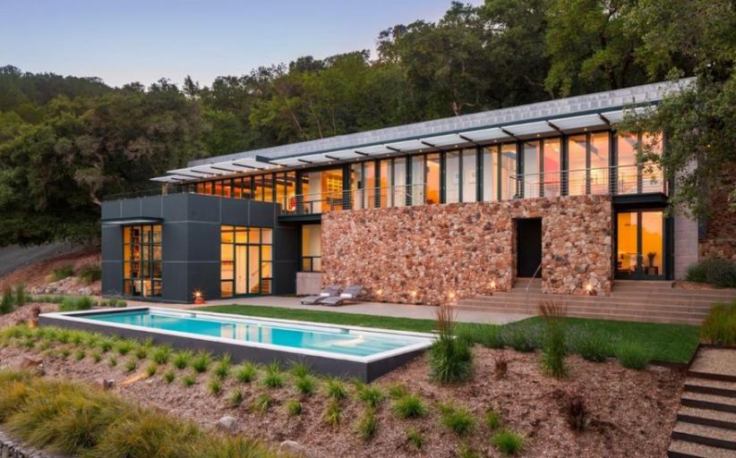 $7.9 Million Contemporary Estate In Sonoma, CA