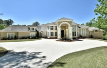 15,000 Square Foot Lakefront Mansion In Lithonia, GA For Just $1.3 Million