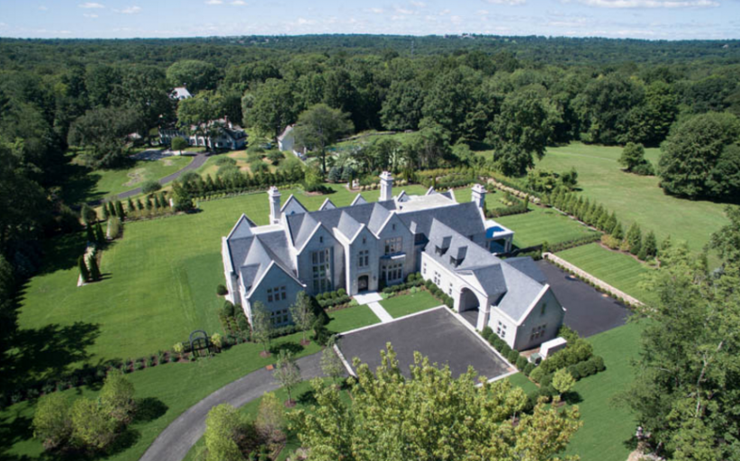 $16.95 Million Newly Built Edwardian Manor Style Stone Mansion In Greenwich, CT