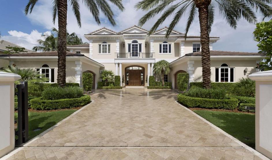 $7.395 Million Georgian Waterfront Home In Delray Beach, FL