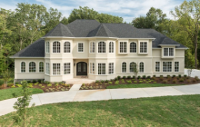 $2.7 Million Newly Built Stucco Mansion In Rockville, MD