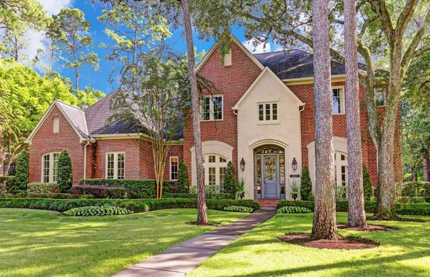 $3.3 Million Brick Home In Houston, TX