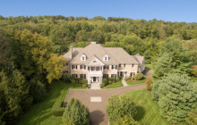 $4.995 Million Colonial Brick Mansion In Greenwich, CT