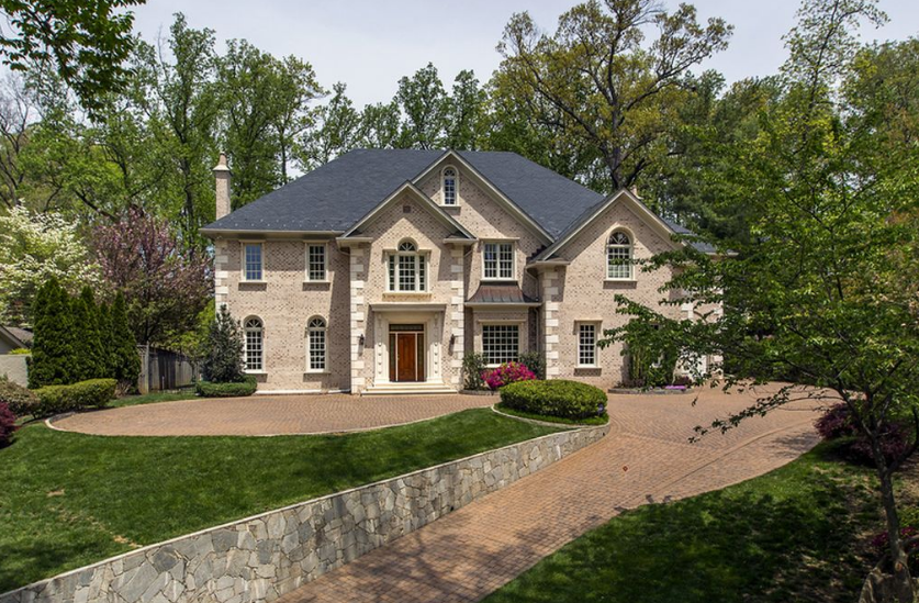 $3.395 Million Brick Home In Bethesda, MD