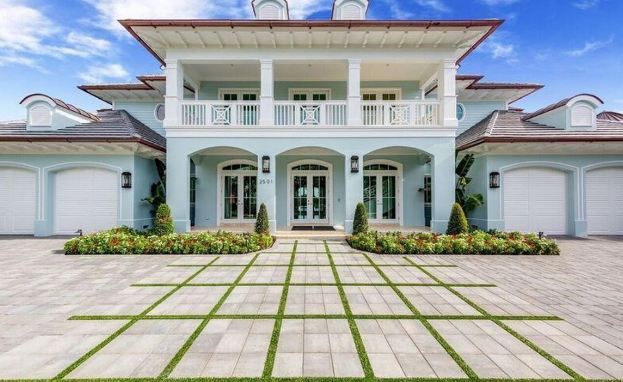 $13.75 Million Newly Built Waterfront Mansion In Fort Lauderdale, FL