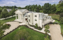 10,000 Square Foot Mansion In Livingston, NJ With Indoor Pool