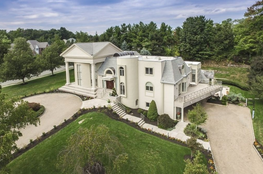 10,000 Square Foot Mansion In Livingston, NJ With Indoor Pool | Homes Of  The Rich