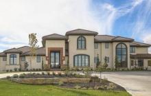 $3.1 Million Newly Built Stucco Mansion In Overland Park, KS