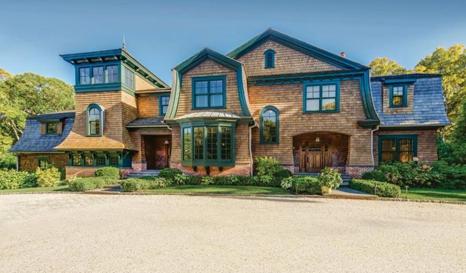 $3.7 Million Shingle Home In East Hampton, NY